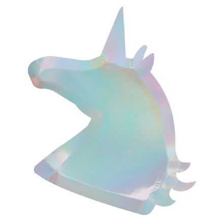 Make a Wish Unicorn Party Plates